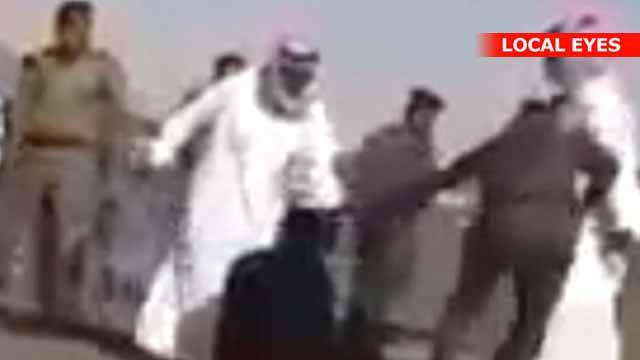 saudi arabien toppløs på fjellet