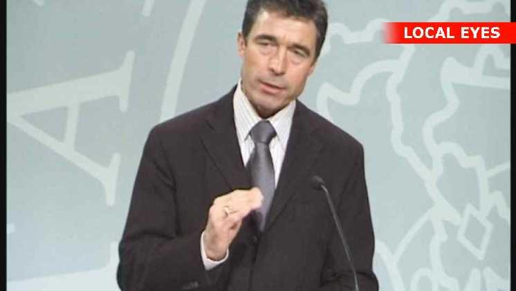 Statsminister Anders Fogh Rasmussen (V)
