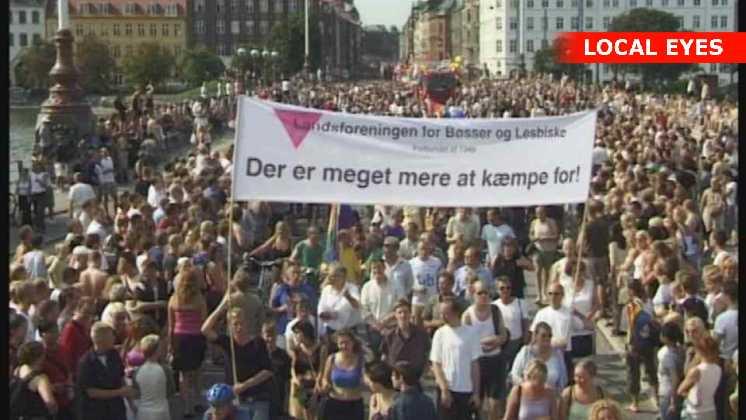 Mermaid Pride i København.