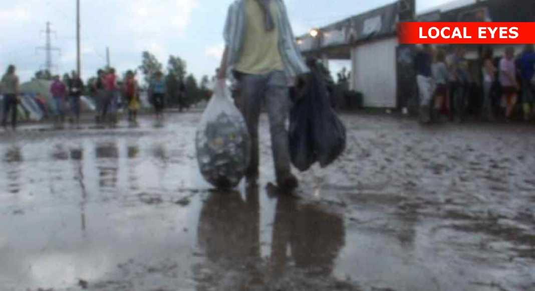 roskilde festival regn