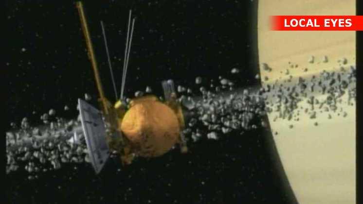 Cassini i kredsløb om Saturn