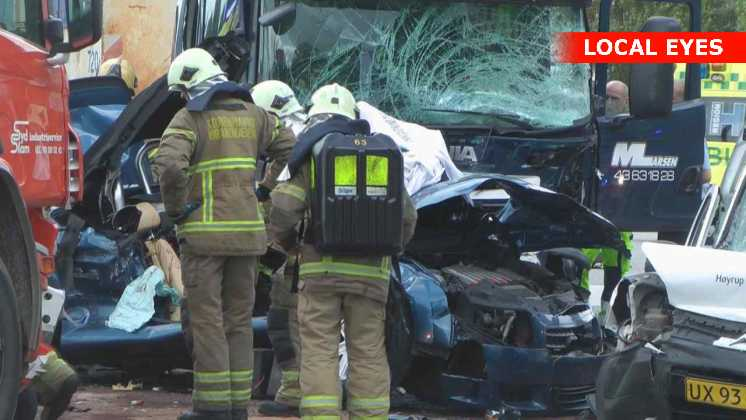 danmark skadet i trafikulykke ved vejle