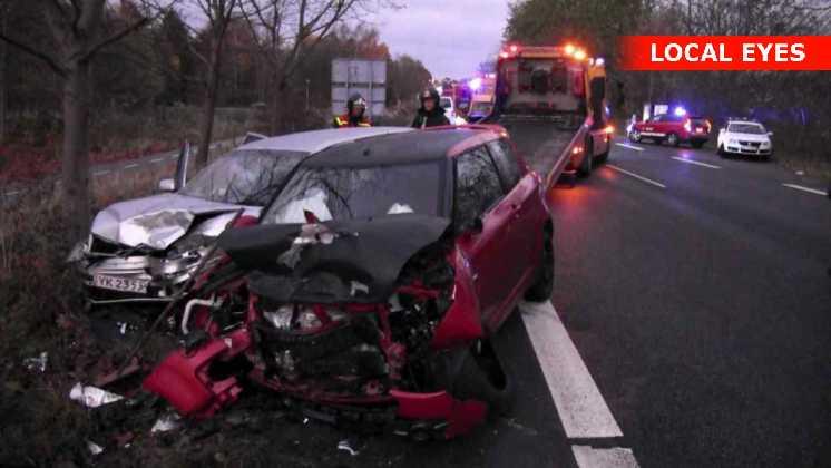 Den overhalende bilist kom alvorligt til skade
