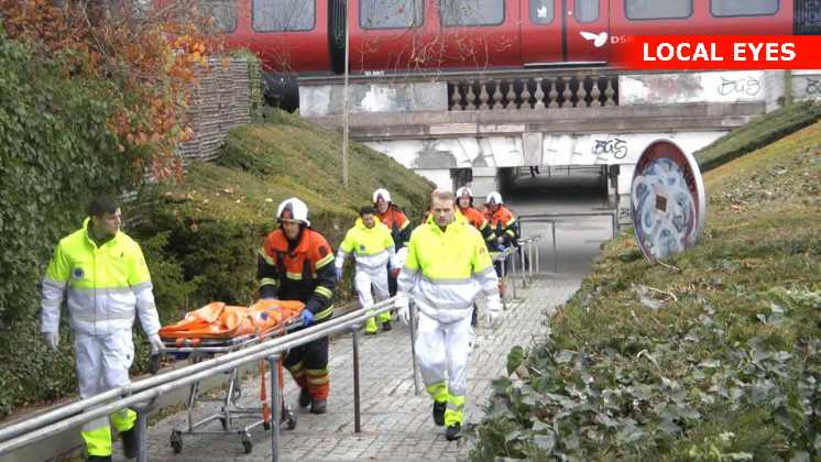 Flere vidner så kvinden blive kørt ihjel af toget. Disse vidner får tilbud om krisehjælp