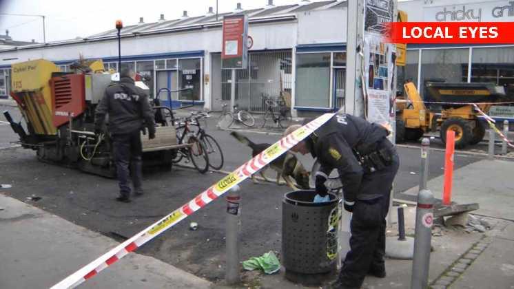 Politiet ledte efter drabsvåbnet overalt i Kødbyen