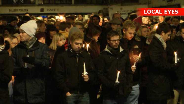 Mandag aften samlede op mod tusinde københavnere sig i Kødbyen