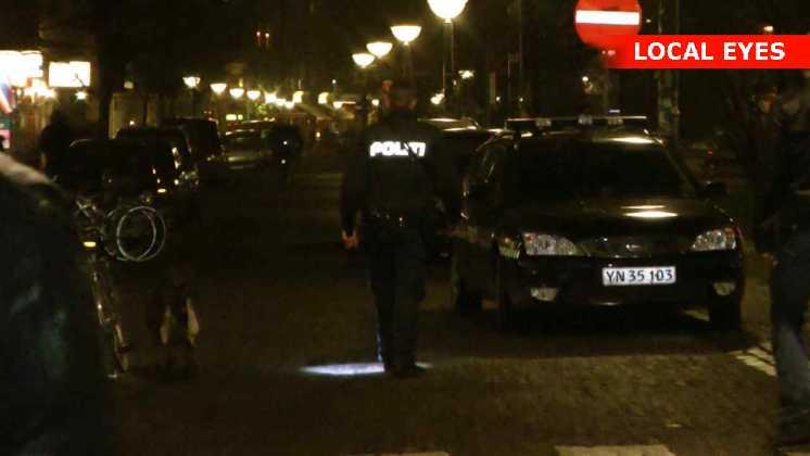 Politiet søgte spor efter røverne