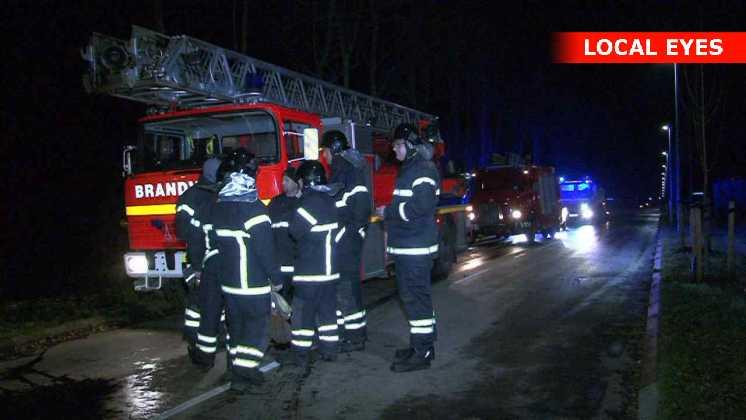 Heldigvis fik brandvæsnet hurtigt branden slukket