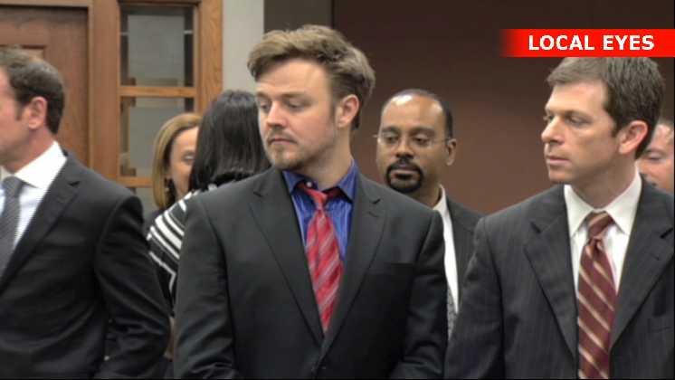 Matthew Newton i retten i Miami