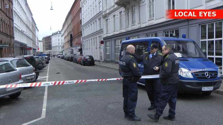Mand stukket ned på Jensens Bøfhus