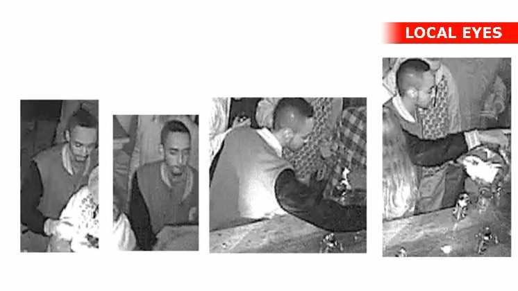 Billeder fra diskotekets overvågningskamera taget på drabsnatten