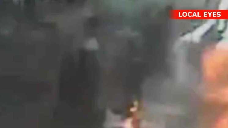 Olietønde eksploderer i hovedet på mand