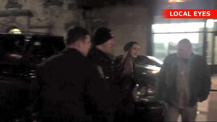 Lindsay Lohan anholdt efter slagsmål