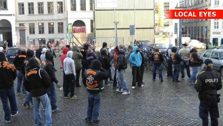 Bandidos rockere ved Københavns Byret d.16.11.2011.