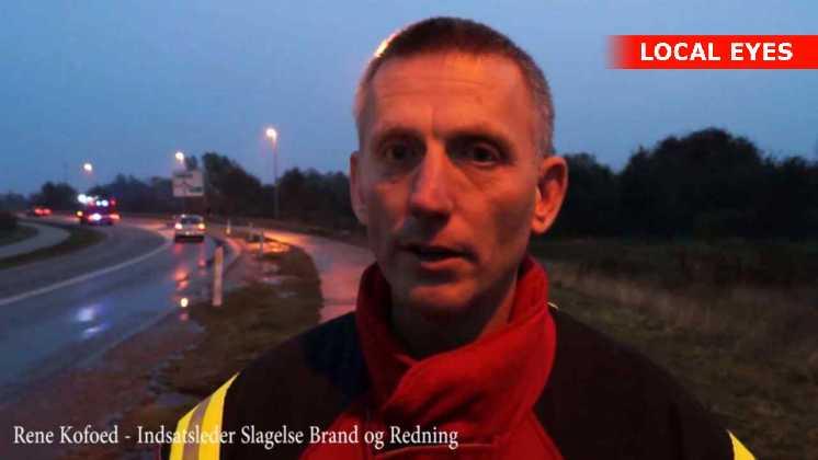 Indsatsleder ved Slagelse brand og redning, Rene Kofoed
