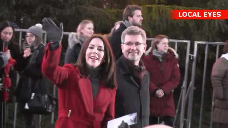 Kronprinsesse Mary og Frank Jensen