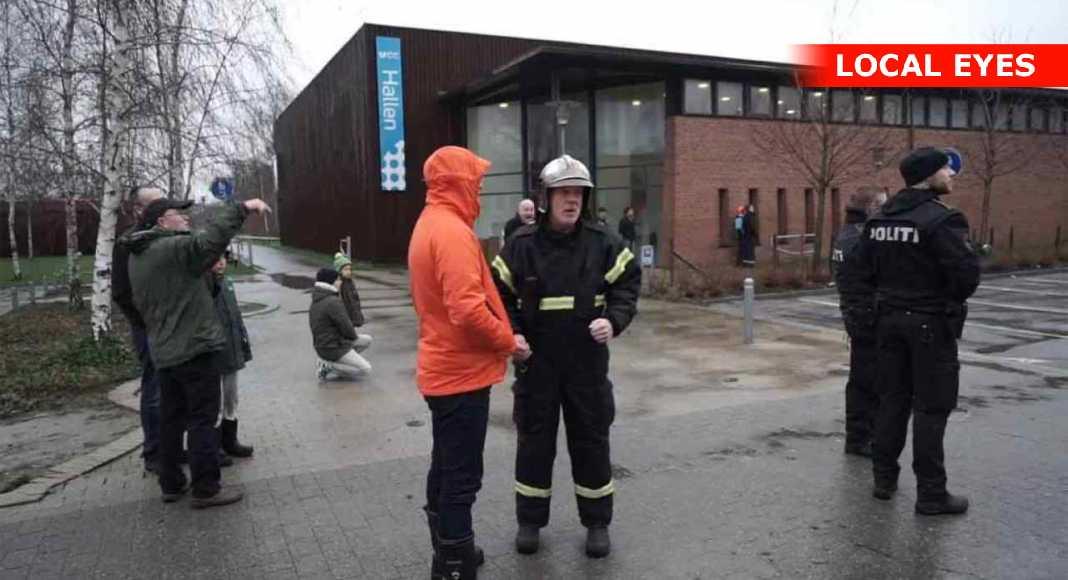 Politi advarer folk efter brand på skole i Skovlunde | LOCAL EYES