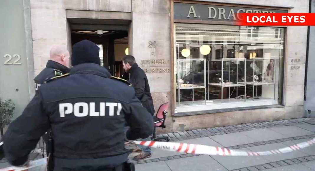 c59b97292ae Alarm om røveri mod kongehusets guldsmed i København | LOCAL EYES