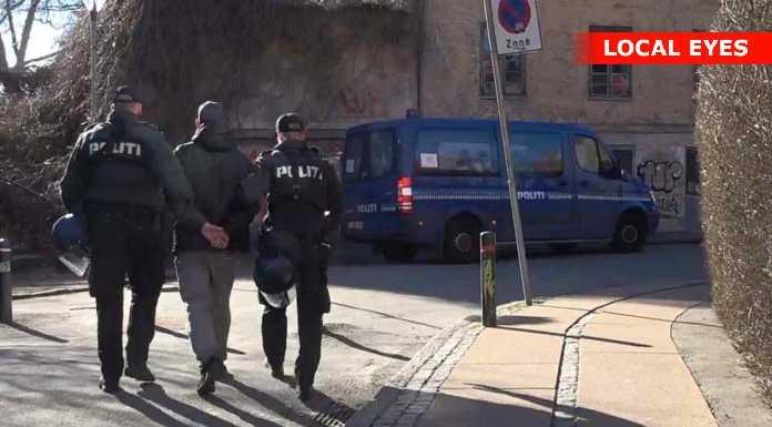 Politiet anholdelse